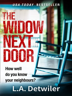 cover image of The Widow Next Door