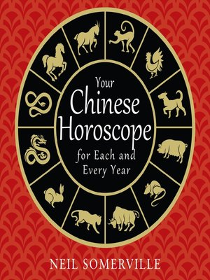 cover image of Your Chinese Horoscope for Each and Every Year