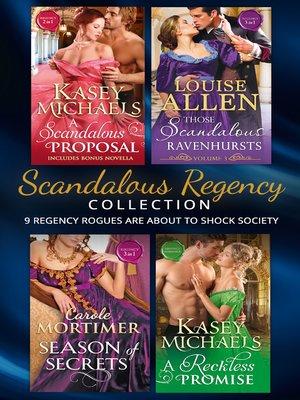 cover image of Scandalous Regency Secrets Collection