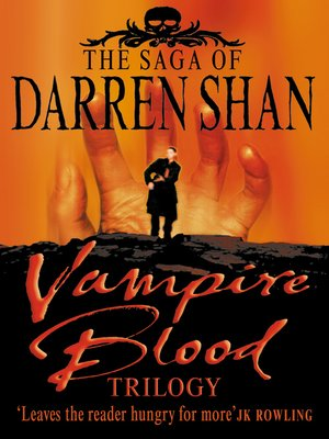 cover image of Vampire Blood Trilogy