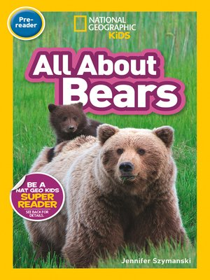 cover image of All About Bears