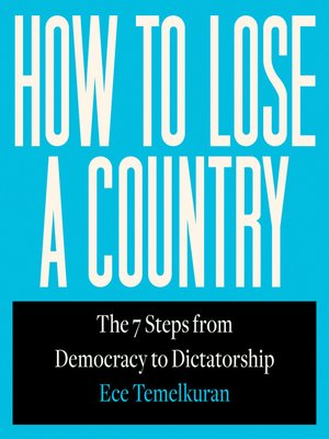 cover image of How to Lose a Country