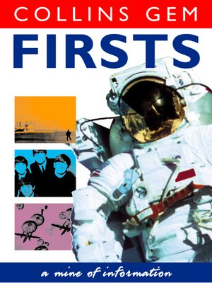 cover image of Firsts (Collins Gem)