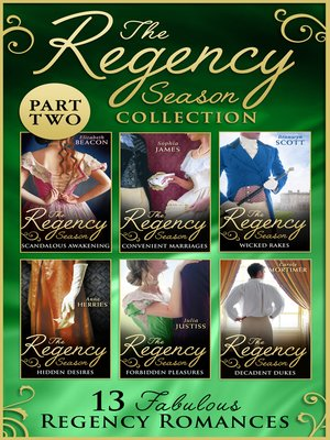 cover image of The Regency Season Collection, Part 2