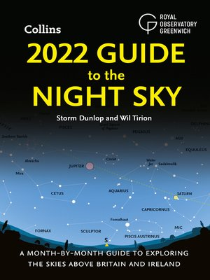 cover image of 2022 Guide to the Night Sky