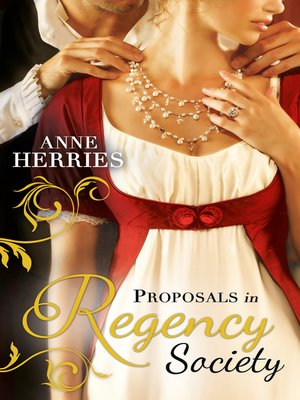 cover image of Proposals in Regency Society