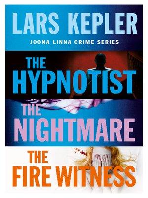 cover image of Joona Linna Crime Series, Books 1-3