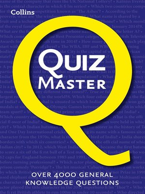 cover image of Collins Quiz Master