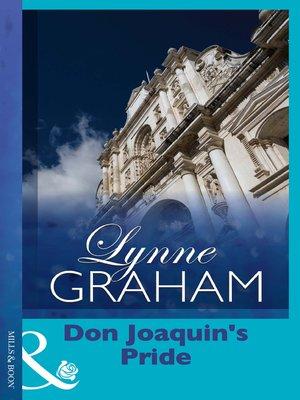 cover image of Don Joaquin's Pride