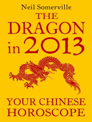cover image of The Dragon in 2013
