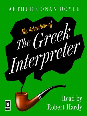 cover image of The Adventure of the Greek Interpreter