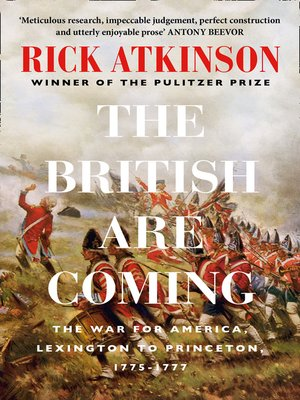 cover image of The British Are Coming