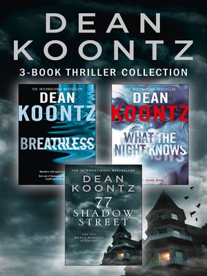 cover image of Dean Koontz 3-Book Thriller Collection