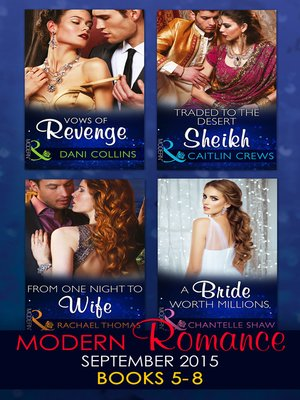 cover image of Modern Romance September 2015, Books 5-8