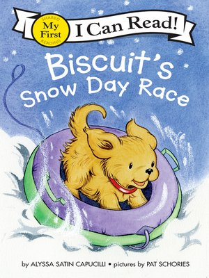 cover image of Biscuit's Snow Day Race