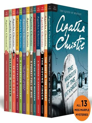 cover image of The Complete Miss Marple Collection
