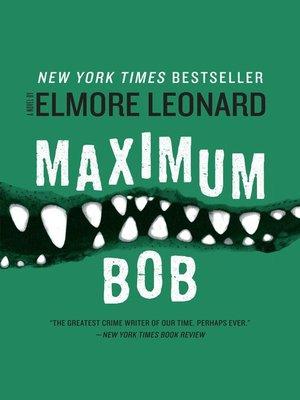 cover image of Maximum Bob