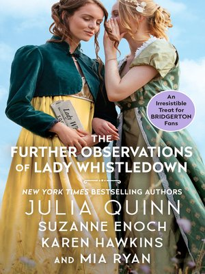 cover image of The Further Observations of Lady Whistledown