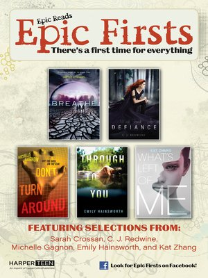 cover image of Epic Firsts Teen Sampler