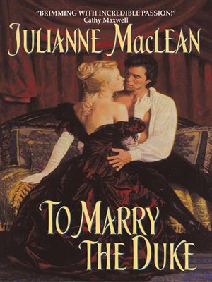 cover image of To Marry the Duke