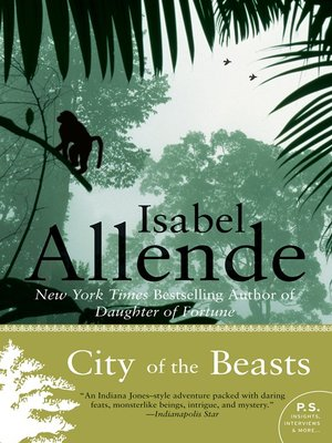 cover image of City of the Beasts