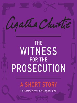 cover image of The Witness for the Prosecution