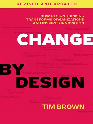 cover image of Change by Design, Revised and Updated