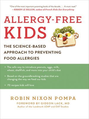 cover image of Allergy Free Kids