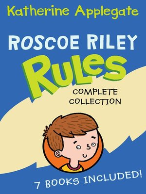 cover image of Roscoe Riley Rules Complete Collection