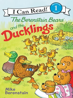 cover image of Berenstain Bears and the Ducklings