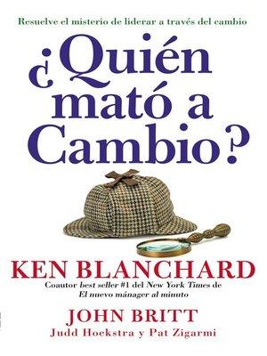 cover image of ¿Quien mató a Cambio?