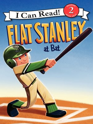 cover image of Flat Stanley at Bat
