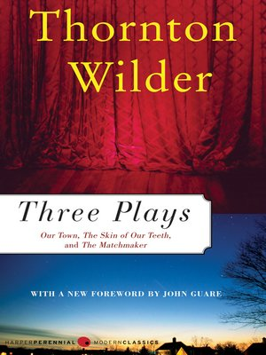 cover image of Three Plays