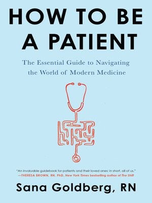 cover image of How to Be a Patient
