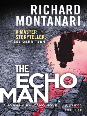 cover image of The Echo Man