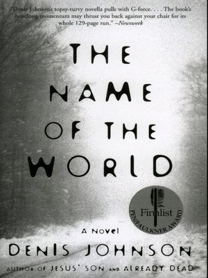 cover image of The Name of the World
