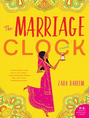 cover image of The Marriage Clock