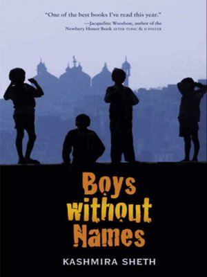 cover image of Boys without Names