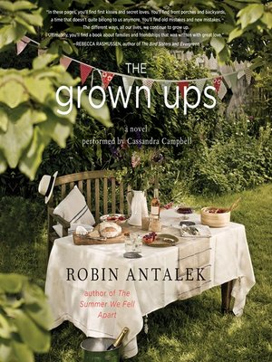 cover image of The Grown Ups