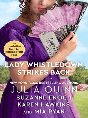 cover image of Lady Whistledown Strikes Back