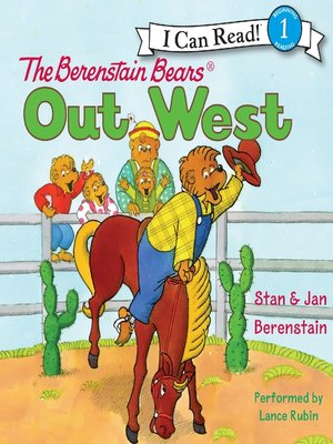 cover image of The Berenstain Bears Out West