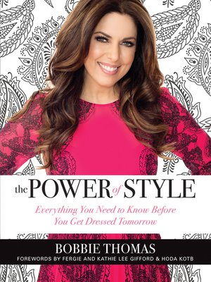 cover image of The Power of Style