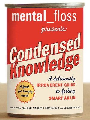 cover image of Mental_Floss Presents: Condensed Knowledge