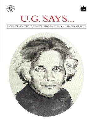 cover image of UG Says