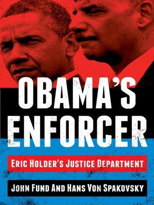 cover image of Obama's Enforcer