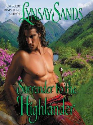 cover image of Surrender to the Highlander