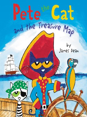cover image of Pete the Cat and the Treasure Map