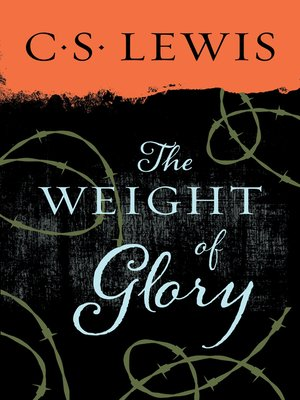 cover image of Weight of Glory