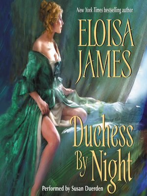 cover image of Duchess By Night