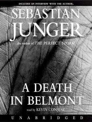 cover image of Death in Belmont
